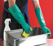 Ansell Solvex Nitrile Hand Glove
