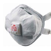 3M 8835 Dust / Mist Respirator Mask [With Valve]