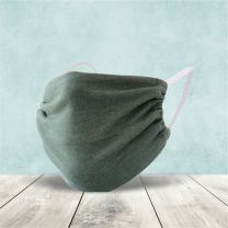 2 layer Cotton Mask with Elastic ear band   Washable, Reusable  with Multi Color