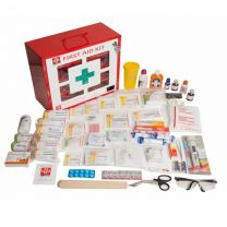 St Johns First Aid Industrial Kit [Large - Metal Box 2]