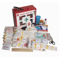 St Johns First Aid Industrial Kit [Medium - Metal Box 3]
