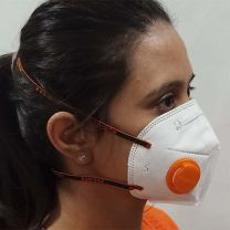 N-95 MASK WITH VALVE
