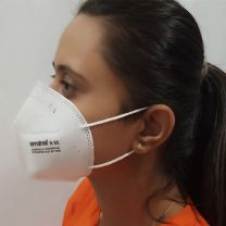 N 95 Respirator Mask for Protection against Particles   COVID 19   Reusable