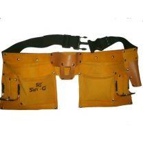 Pocket Leather Tool Bag Belt