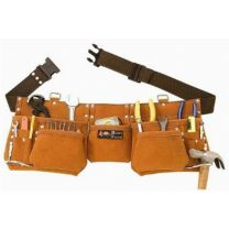 Pocket Suede Leather Tool Pouch Bag Belt