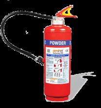Saviour Fire Extinguisher ABC [Squeeze Grip Cartridge Type - 4 Kgs]