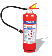 Saviour Fire Extinguisher ABC [Squeeze Grip Cartridge Type - 6 Kgs]