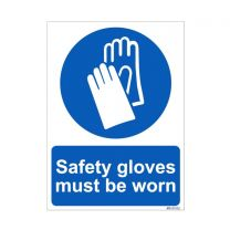 Safety Gloves Must be worn Sign