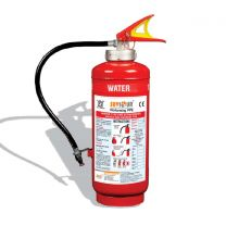 Saviour Fire Extinguisher Water CO2 [Squeeze Grip Cartridge Type - 6 ltr.]