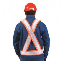 Saviour High Visibility Reflective Cross Belt
