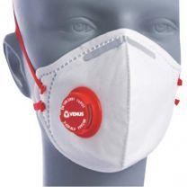 Venus V-420 SLV FFP2 NR Dust / Mist Respirator Mask [With Valve]