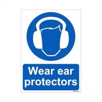 Wear Ear Protectors Sign