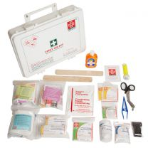 St Johns First Aid Workplace Kit [Large - Plastic Box P1]