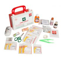 St Johns First Aid Workplace Kit [Small - Plastic Box P5]