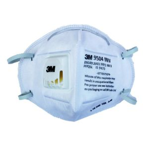 3M 9504 INV  Disposable Respirator Mask [Set of 5 ]