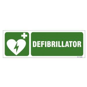 Defibrillator Sign