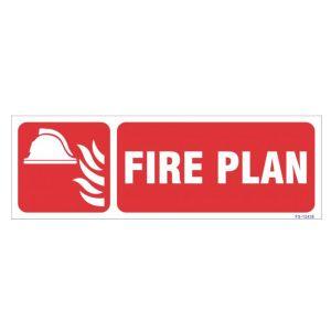 Fire Plan Sign