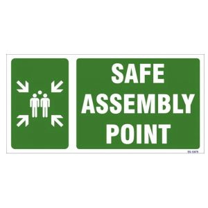 Safe Assembly Point Sign