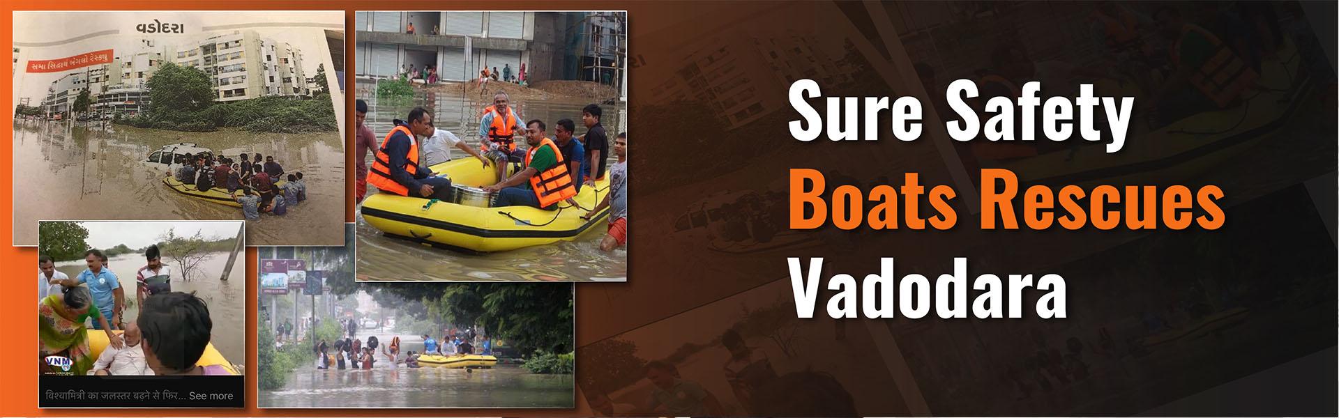 boats rescue Vadodara