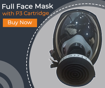 Full Face Mask With P3 Cartidge