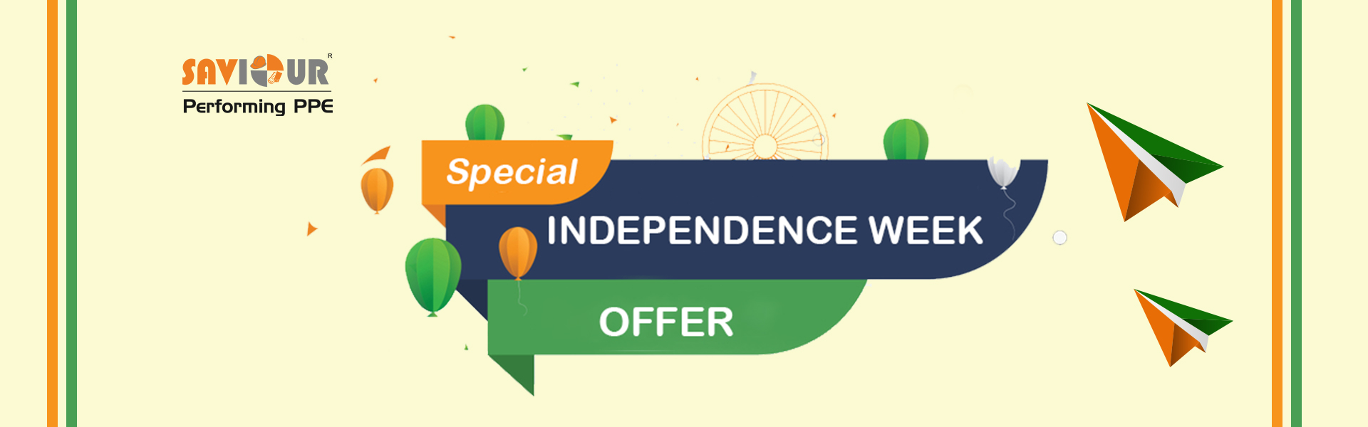 Special Independance week offer